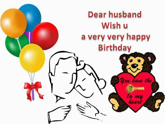 birthday greetings for your husband free for husband