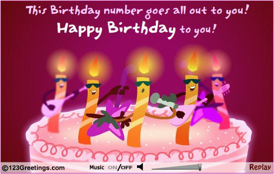 Musical Birthday Cards For Husband Free Animated Greeting Download