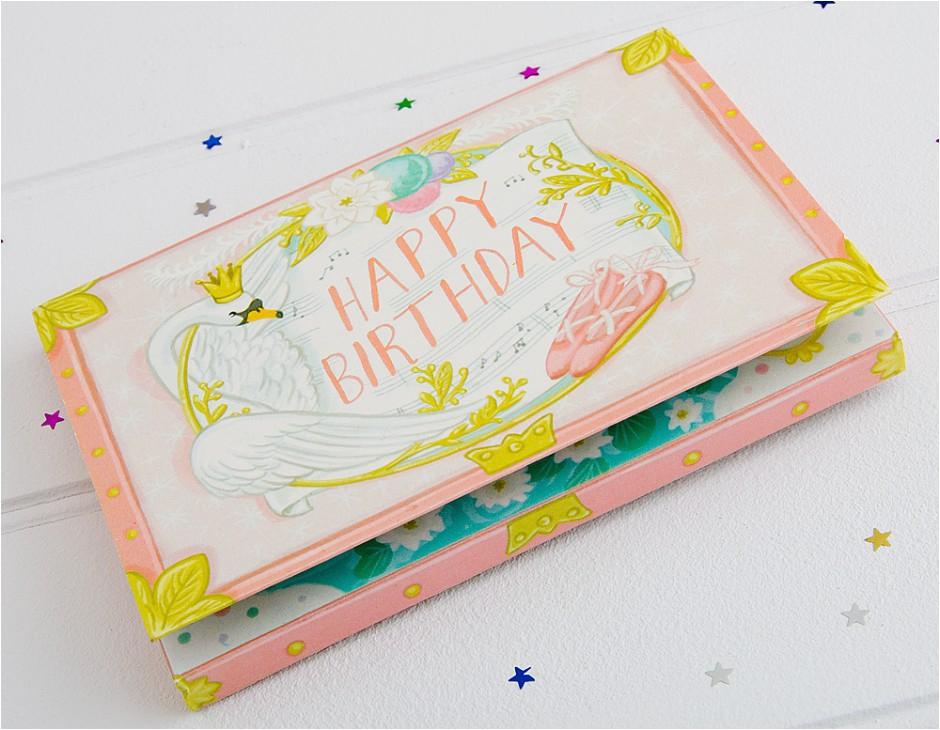 musical box birthday card