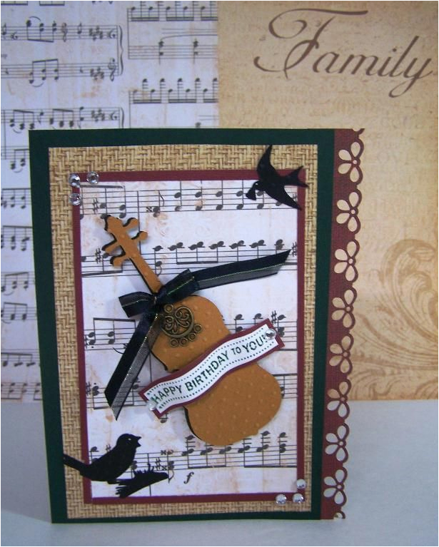 176 Best Cards With A Music Theme Images