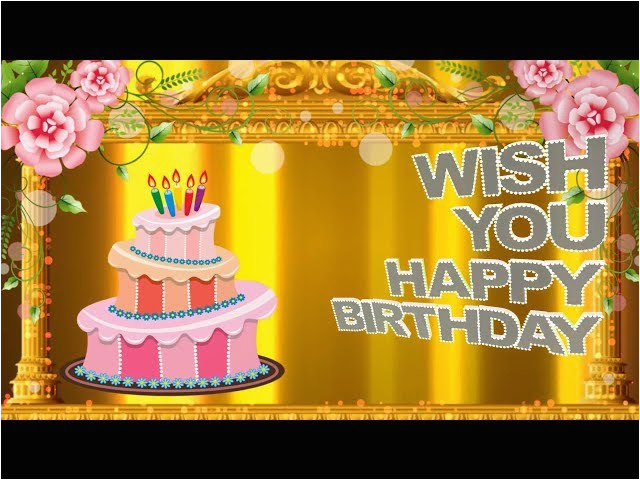 birthday wishes for a friend happy birthday animation