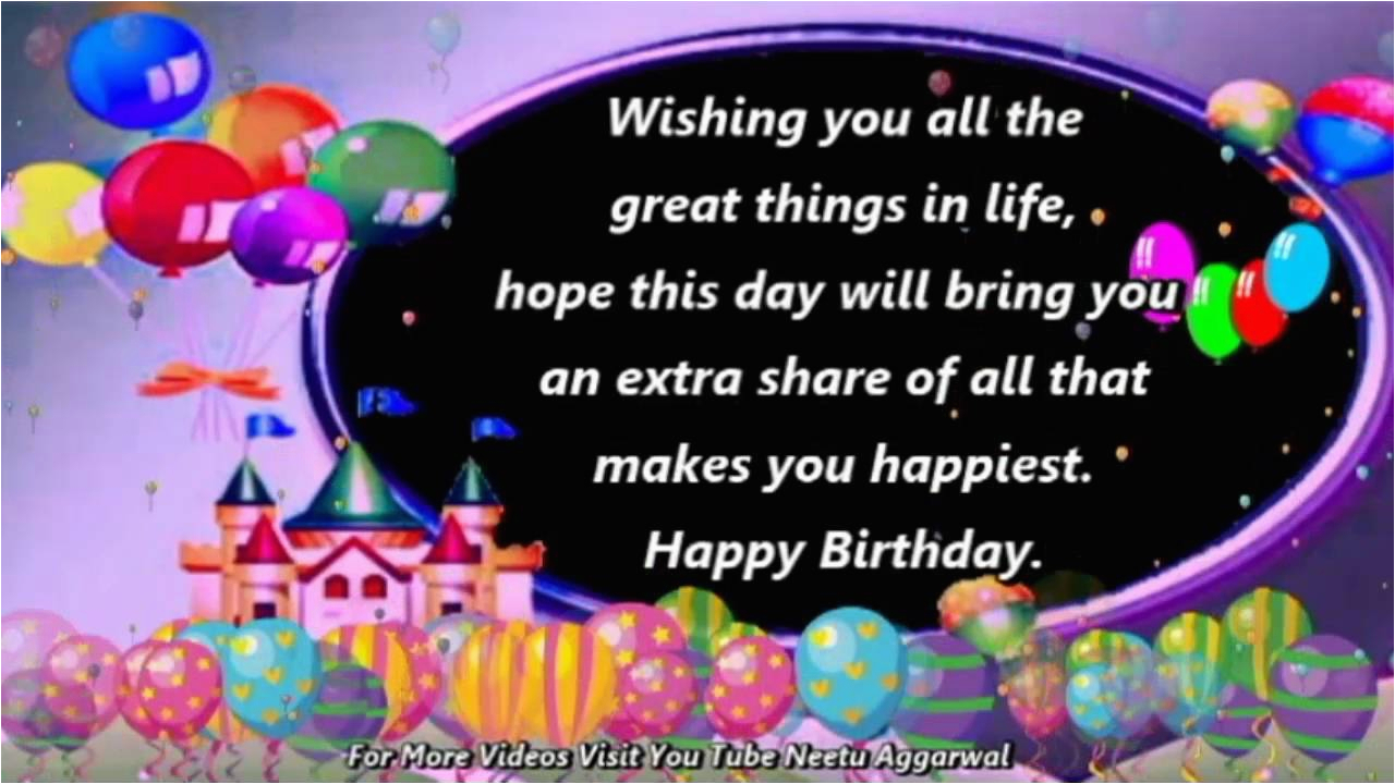 Musical Birthday Cards For Whatsapp Happy Wishes Greetings Quotes Sms Saying E Card
