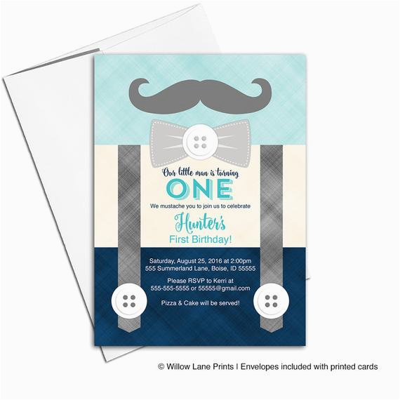 Mustache First Birthday Invitations First Birthday Invitation Boy Mustache Birthday Party