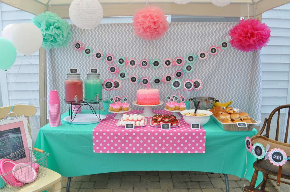 My First Birthday Party Decorations 1st Birthday Party Birthday Party Ideas Photo 1 Of 29
