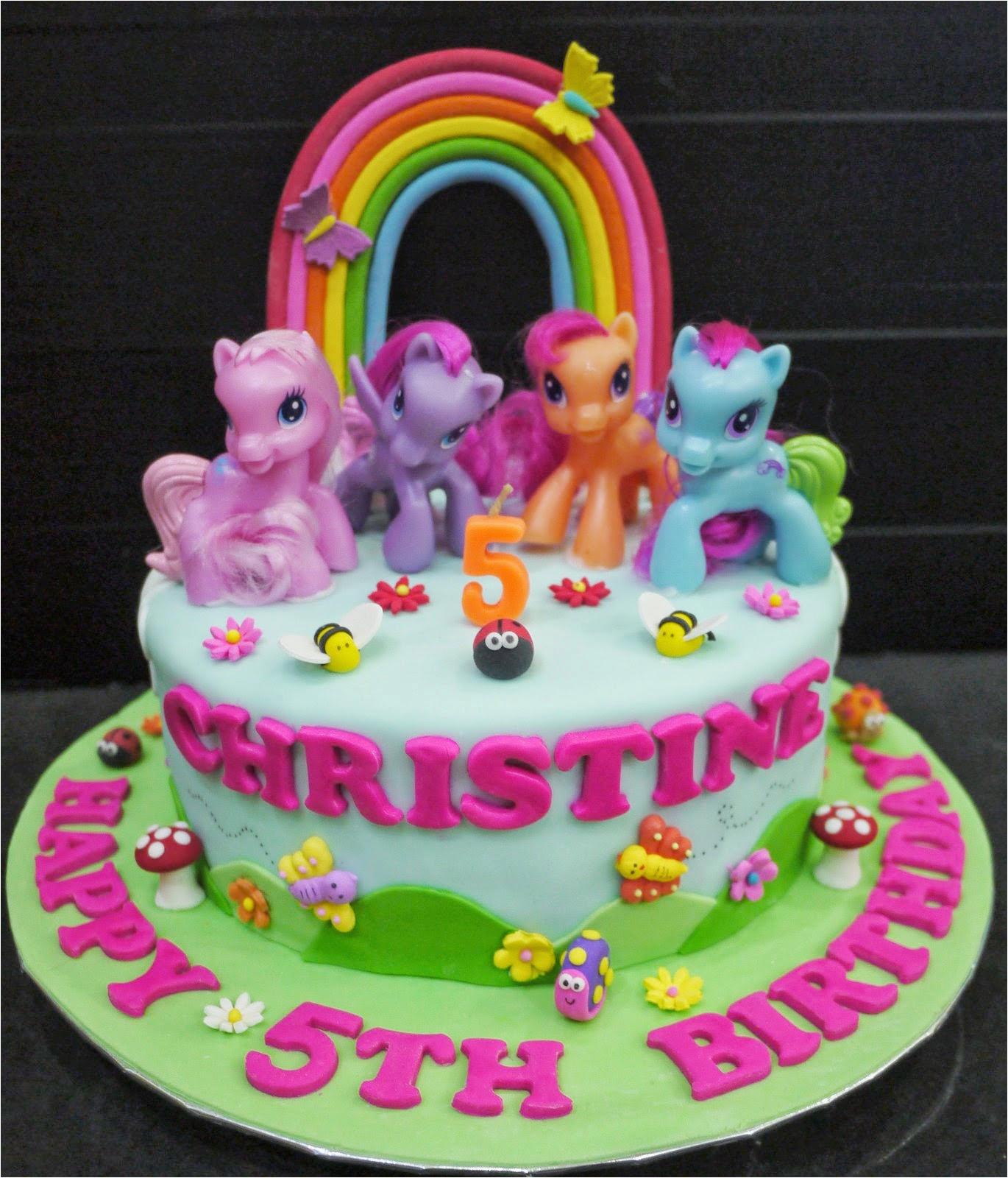 christines my little pony cake