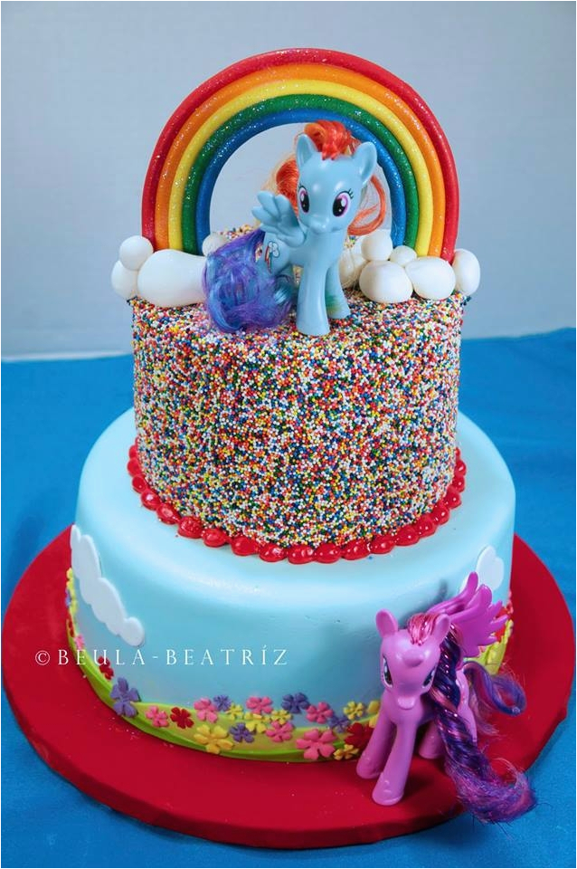 My Little Pony Birthday Cake Decorations Cakecentral Com