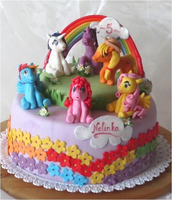 top little pony cakes