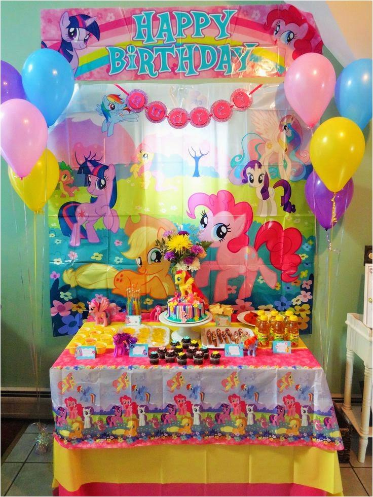 My Little Pony Birthday Decoration Ideas Birthdaybuzz