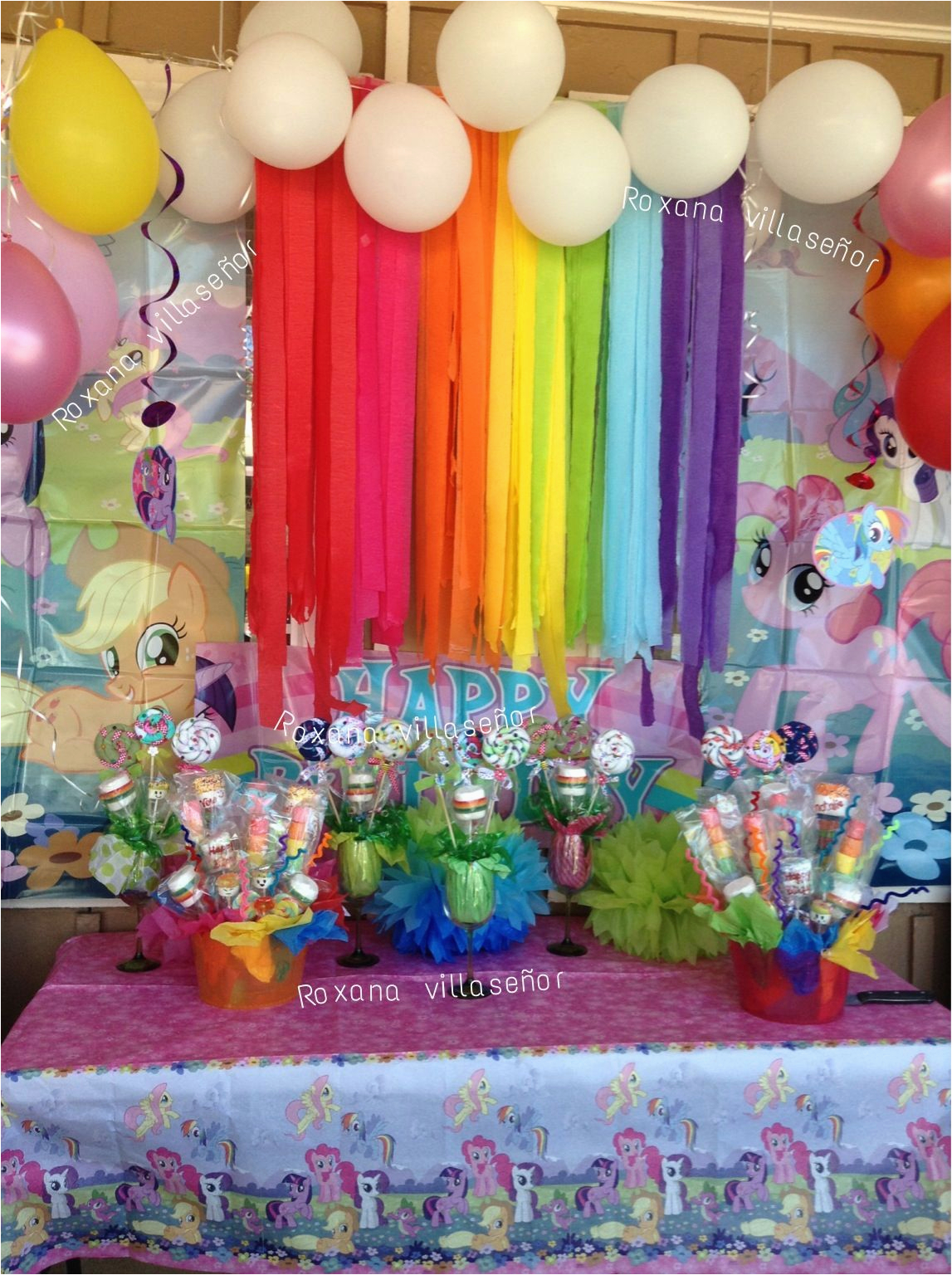 My Little Pony Birthday Party Ideas Decorations For Twin