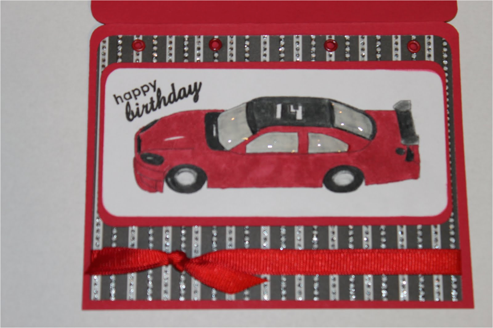 nascar birthday card