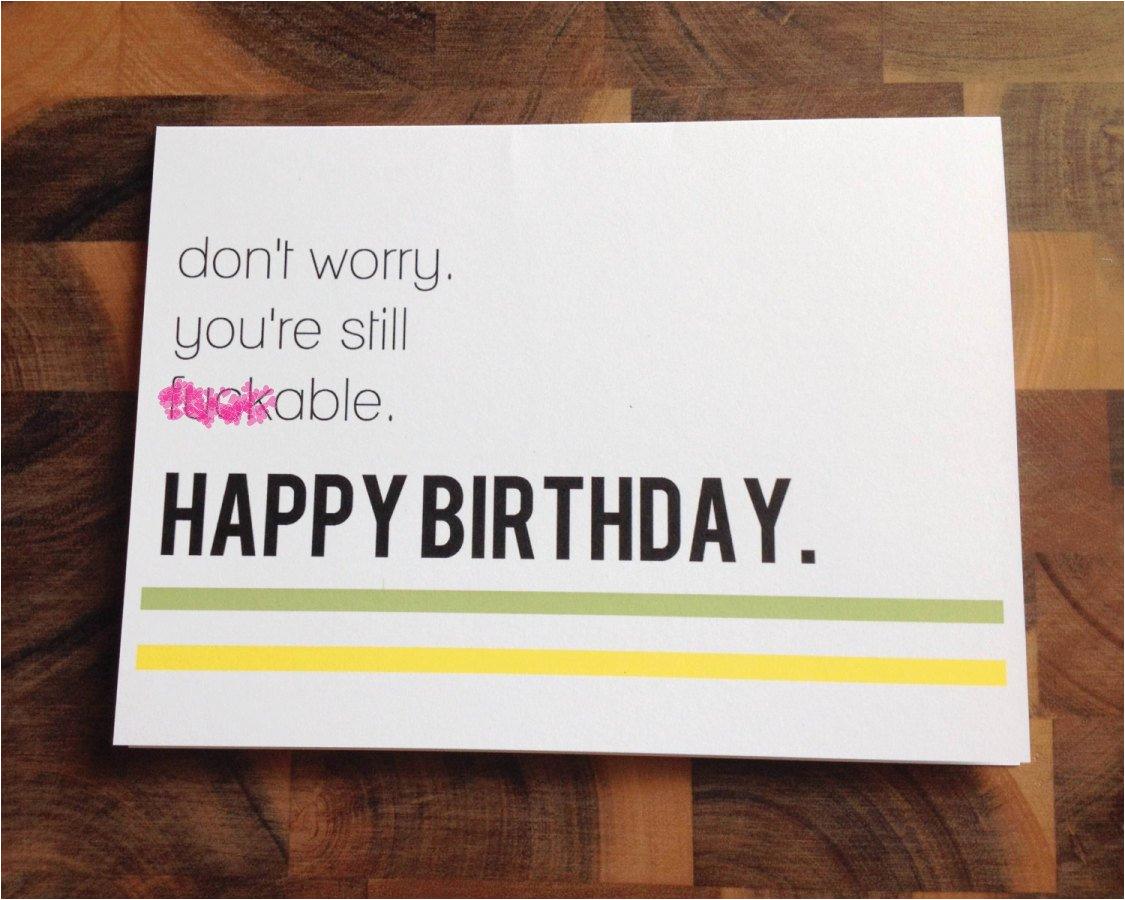 funny birthday card naughty birthday card adult by