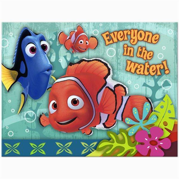 Nemo Birthday Party Invitations Disney Pixars Finding Nemo Fun events Inc Party Supplies