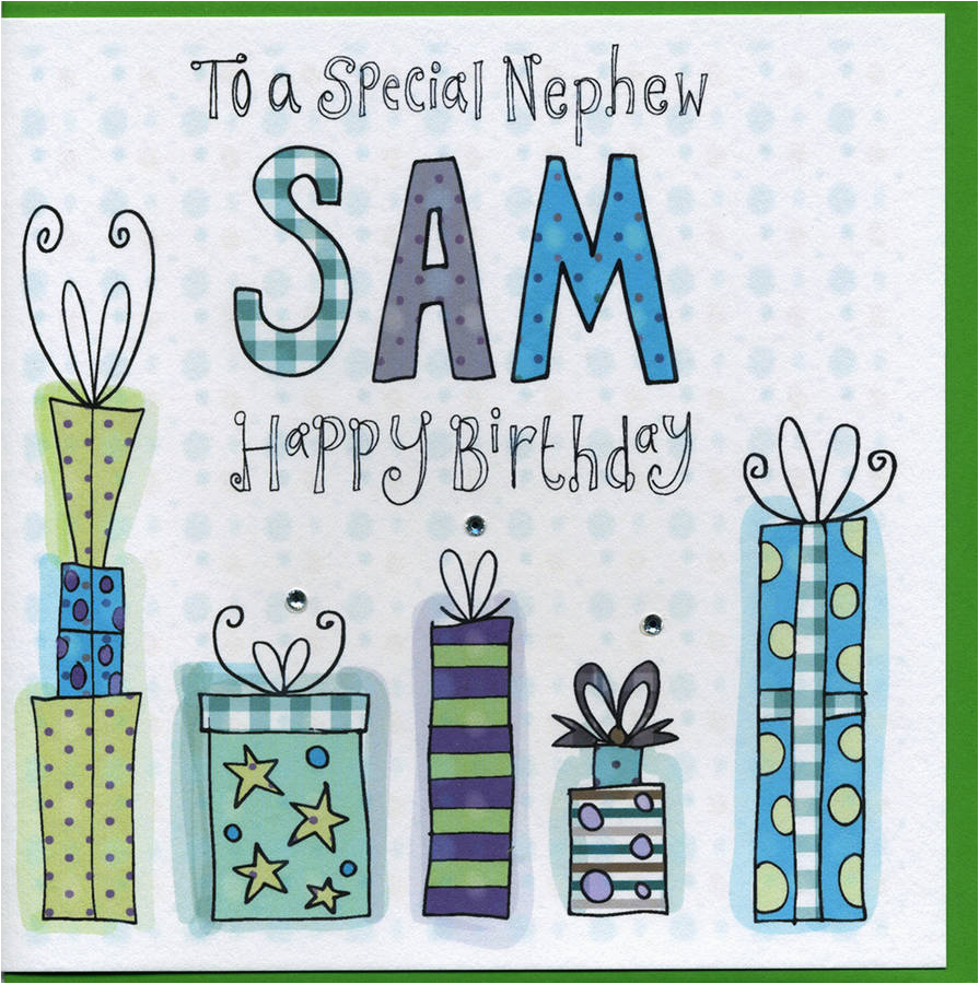 Nephew 18th Birthday Card Personalised By Claire Sowden Design