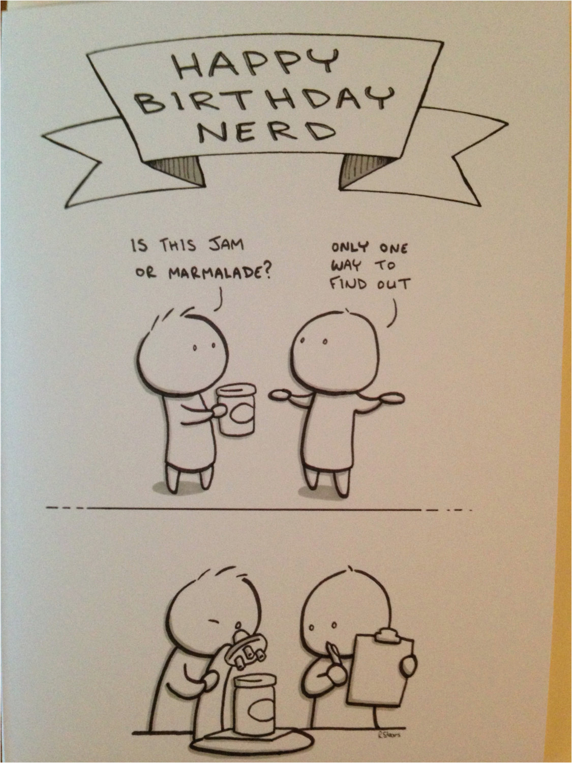 Nerd Birthday Cards Funny Birthday Card Happy Birthday Nerd