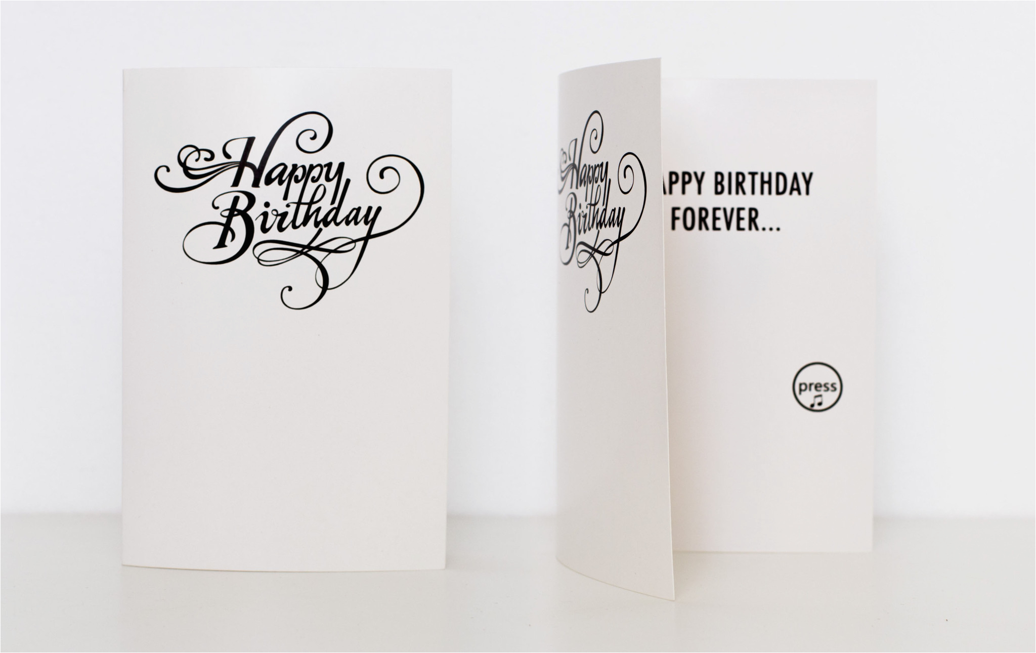 never ending birthday card