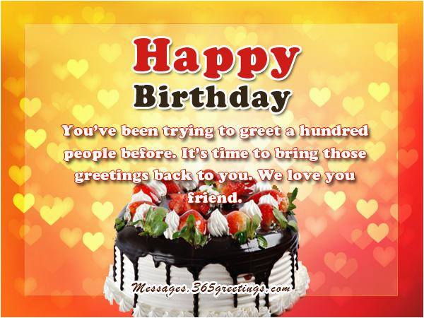 Nice Birthday Cards for Friends Best Birthday Wishes 365greetings Com