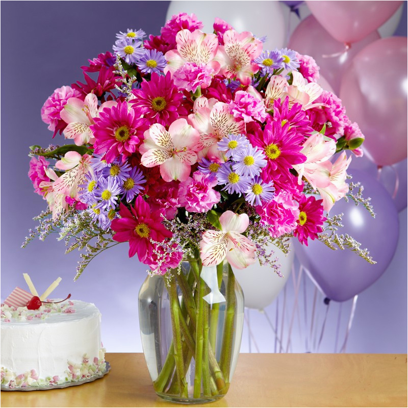happy birthday flowers images pictures wallpapers