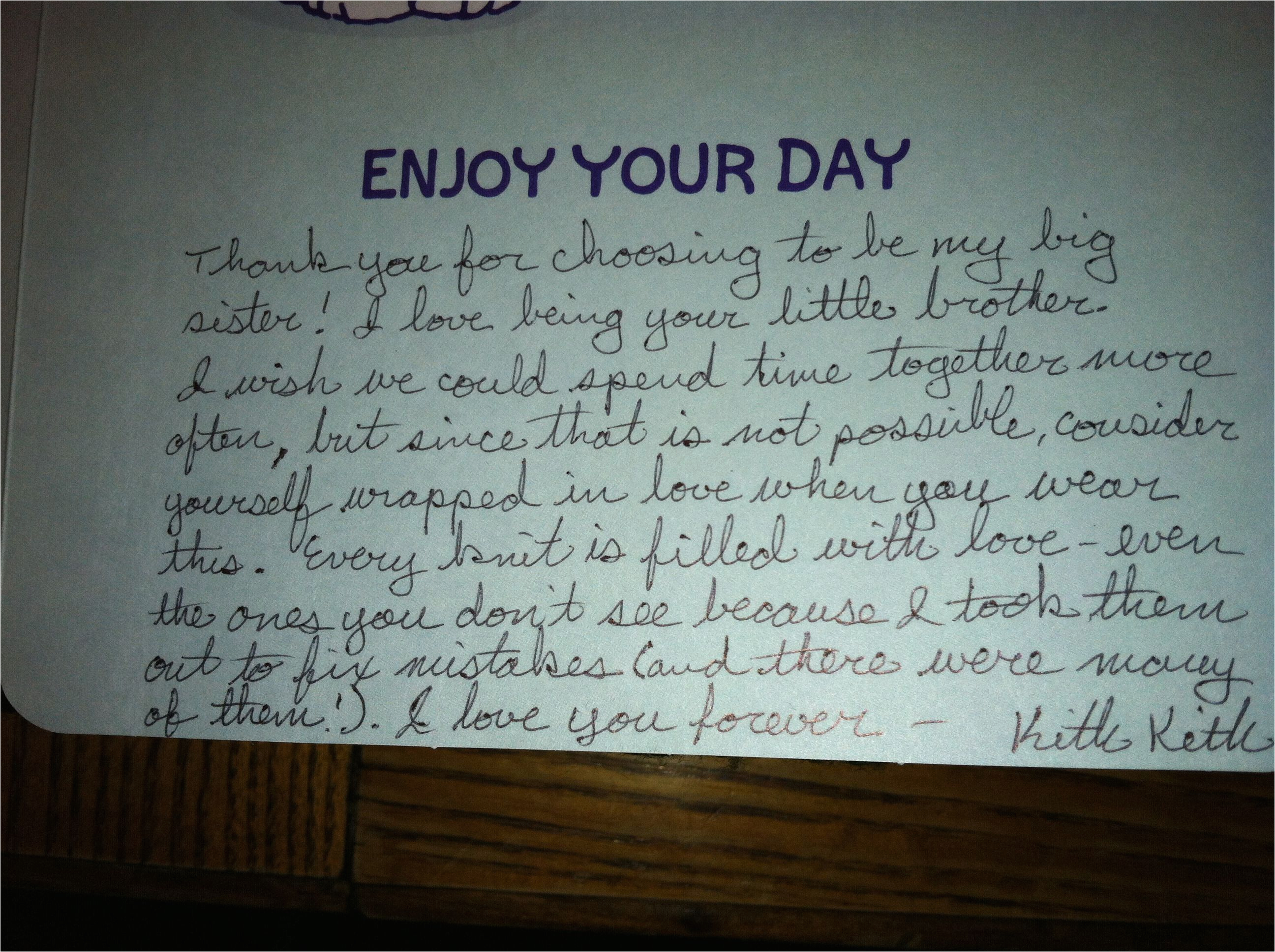 Nice Things To Say In A Birthday Card