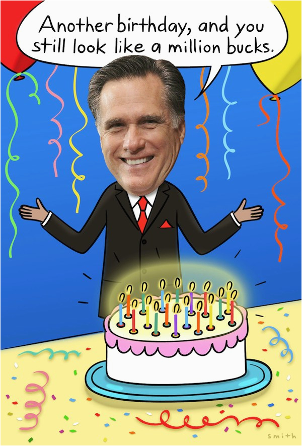 coming to a birthday party near you obama vs romney