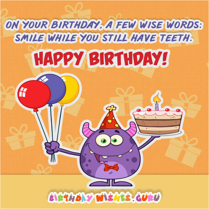 funny birthday wishes messages