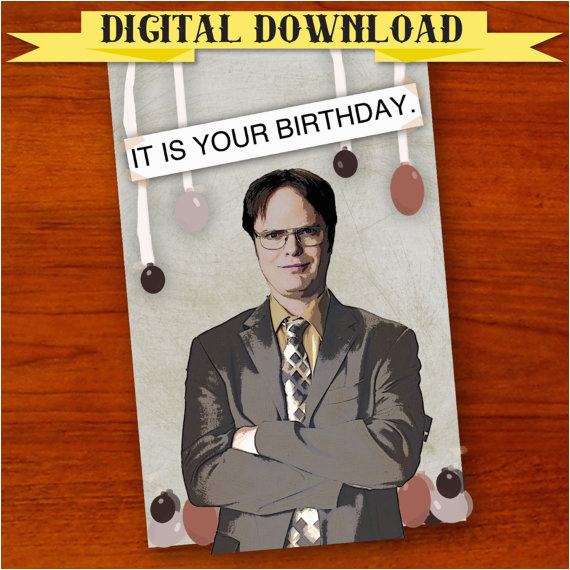 funny pop culture birthday cards etsy