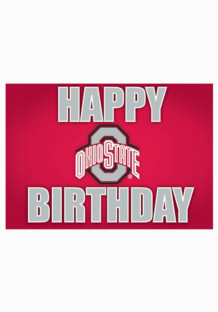 ohio state buckeyes happy birthday card 21230278