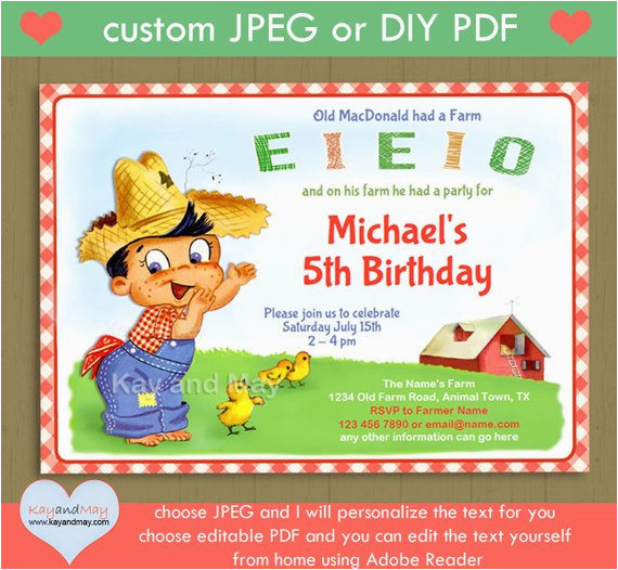old macdonald birthday invitation p 25