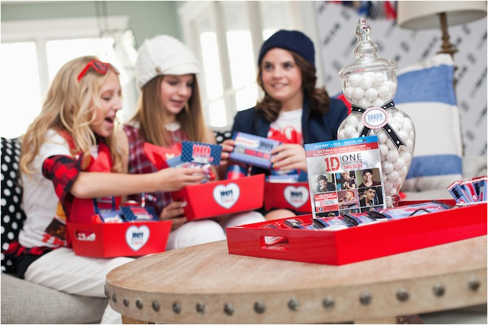 one direction themed birthday party