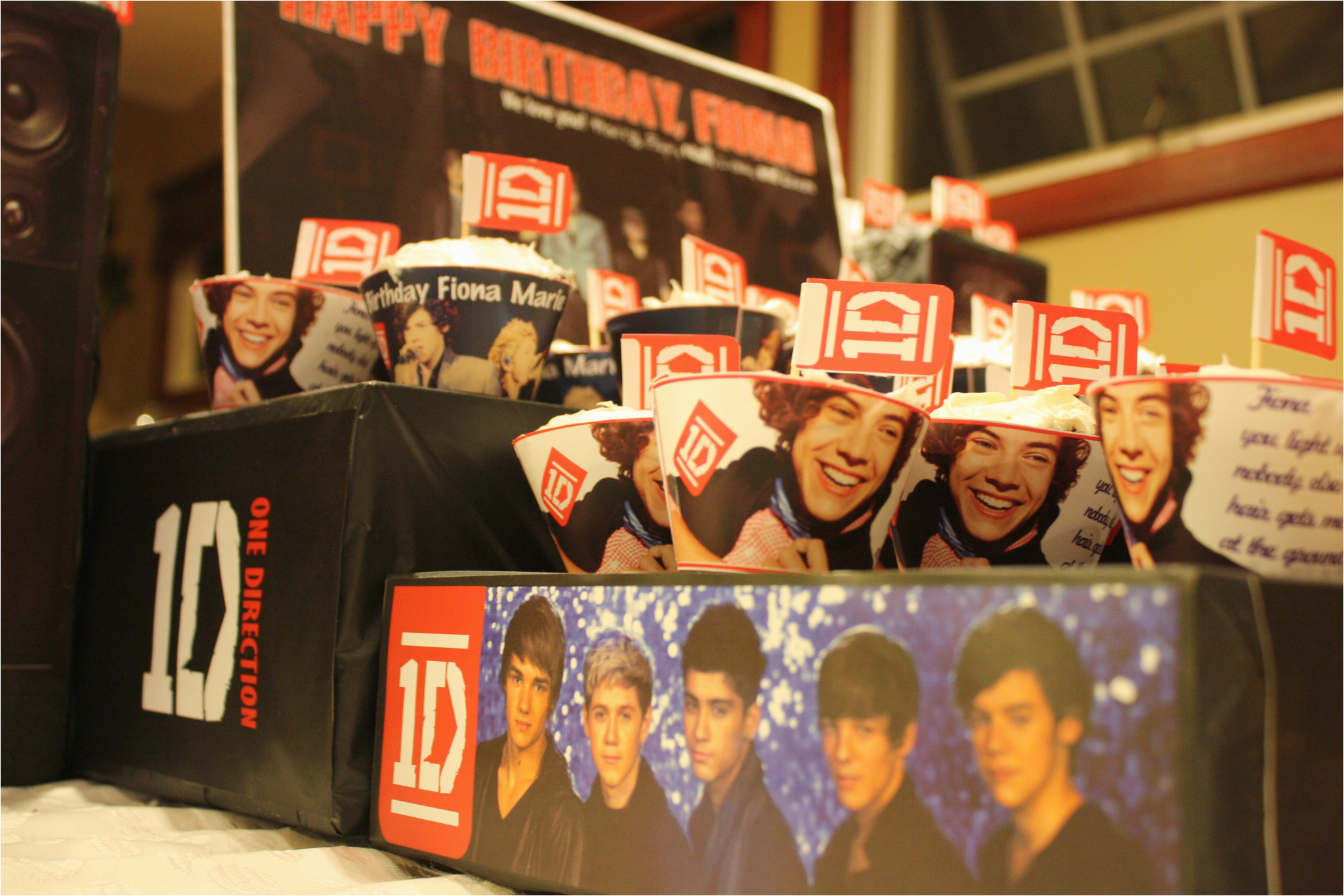 one direction id birthday party theme 6