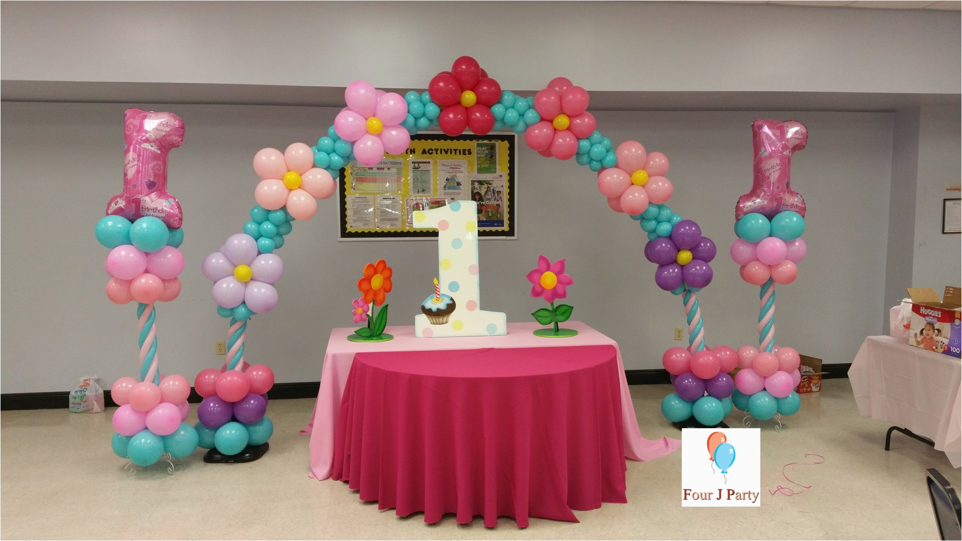 1st birthday themes
