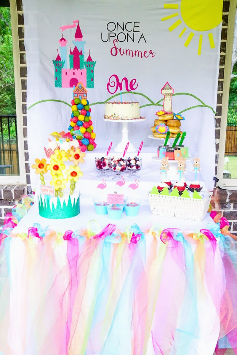 summer first birthday ideas