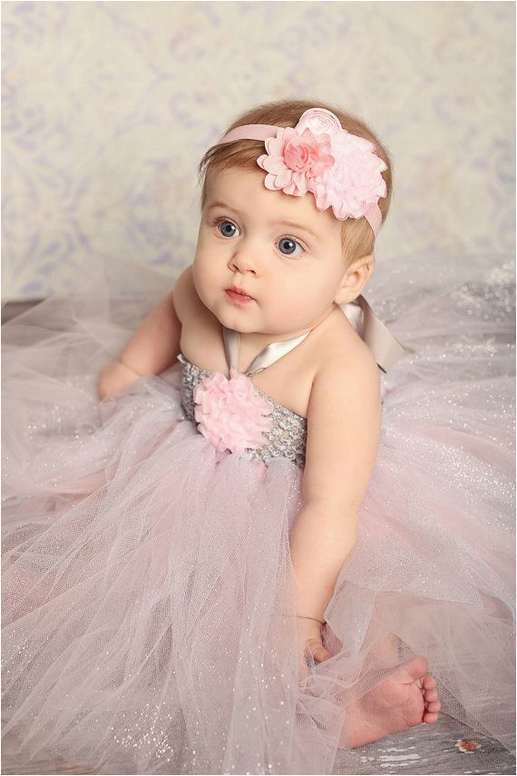 one year old baby girl birthday dress fashion show