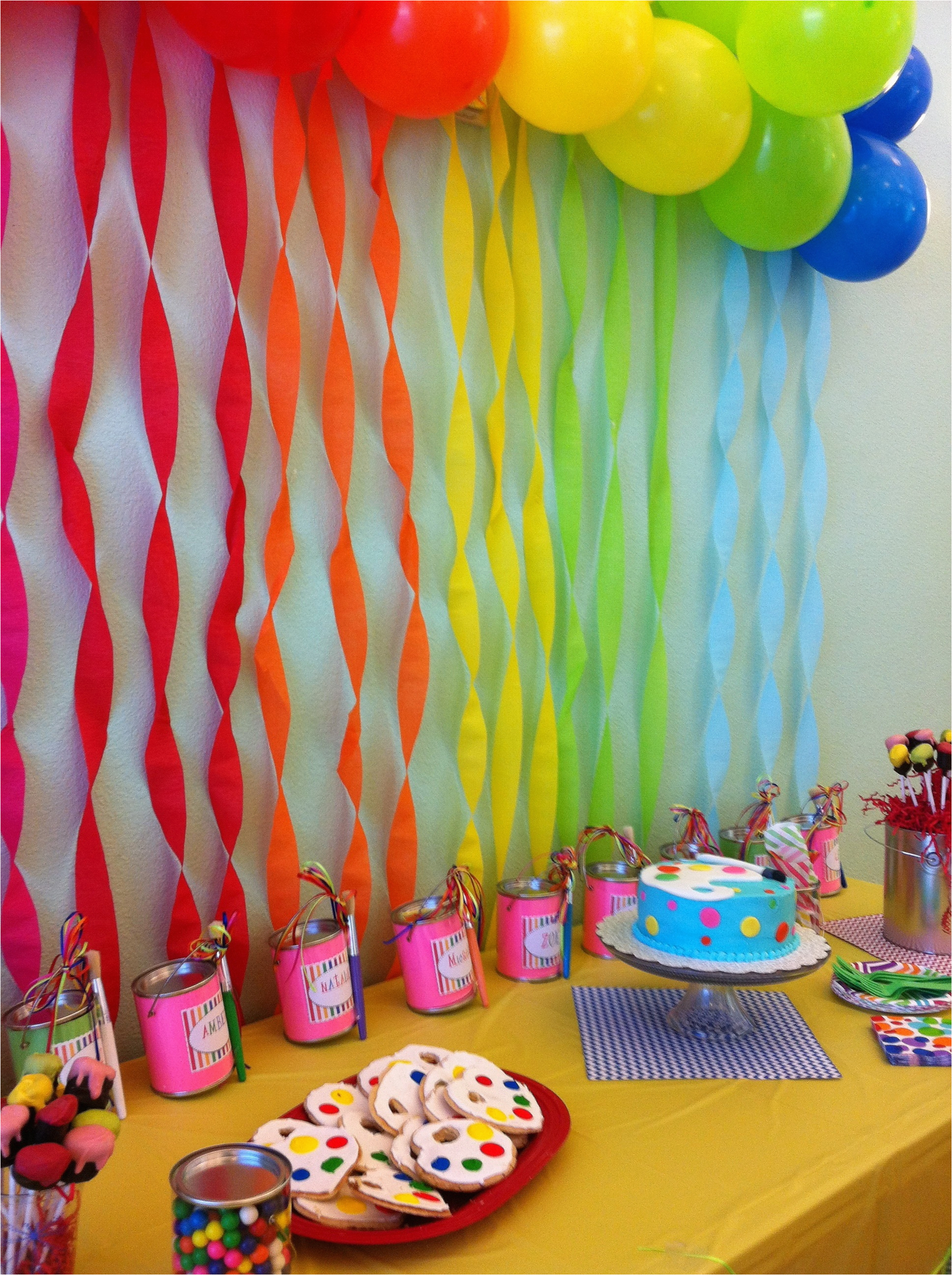 One Year Old Birthday Party Decorations 7 Ideaswritings And Papers