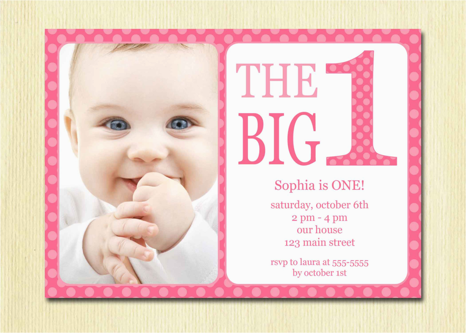 One Year Old Birthday Quotes For Invitations Baby First Bagvania Free Printable