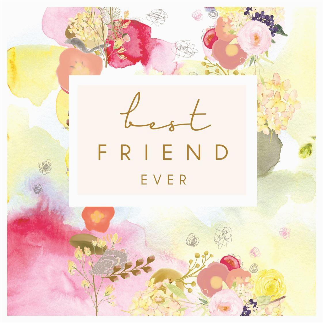 Online Birthday Cards for Best Friend Best Friend Ever Card Karenza Paperie