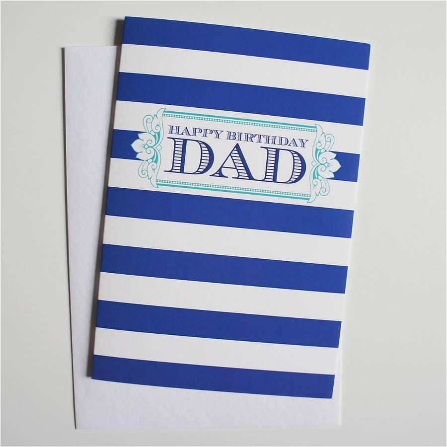 39 dad 39 birthday greeting card by dimitria jordan