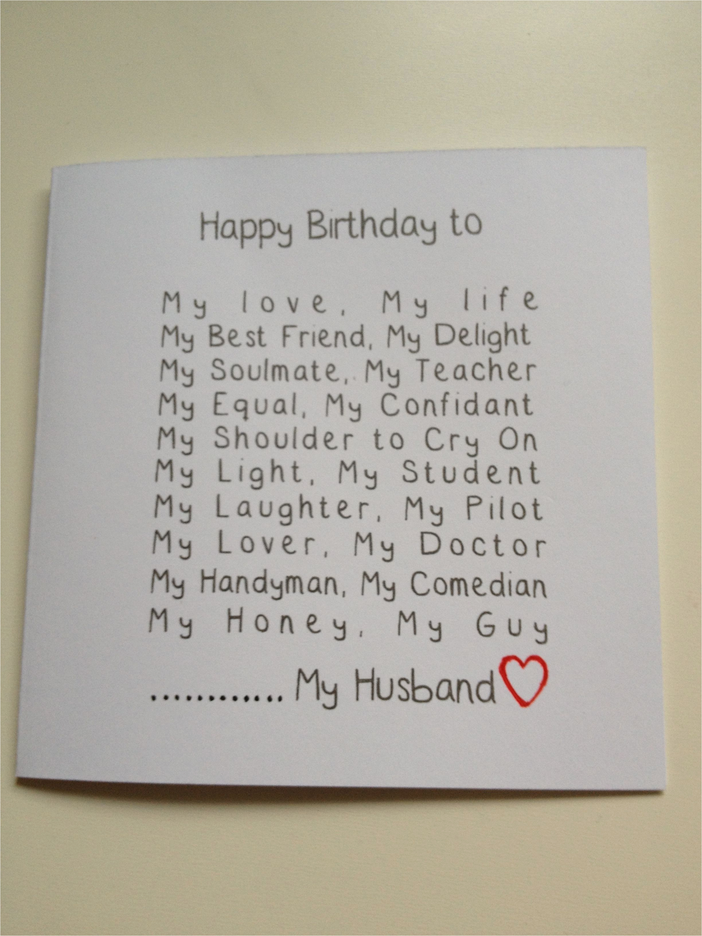 Online Birthday Cards For Husband Handmade Card Funny Adam My Love