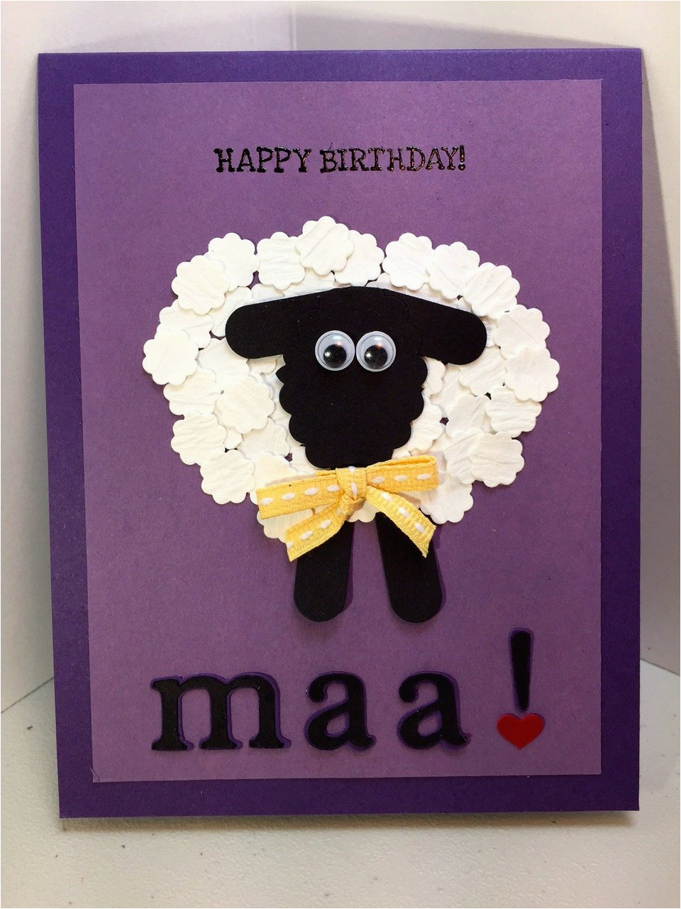 happy birthday maa humerous handmade by treasuresforacure