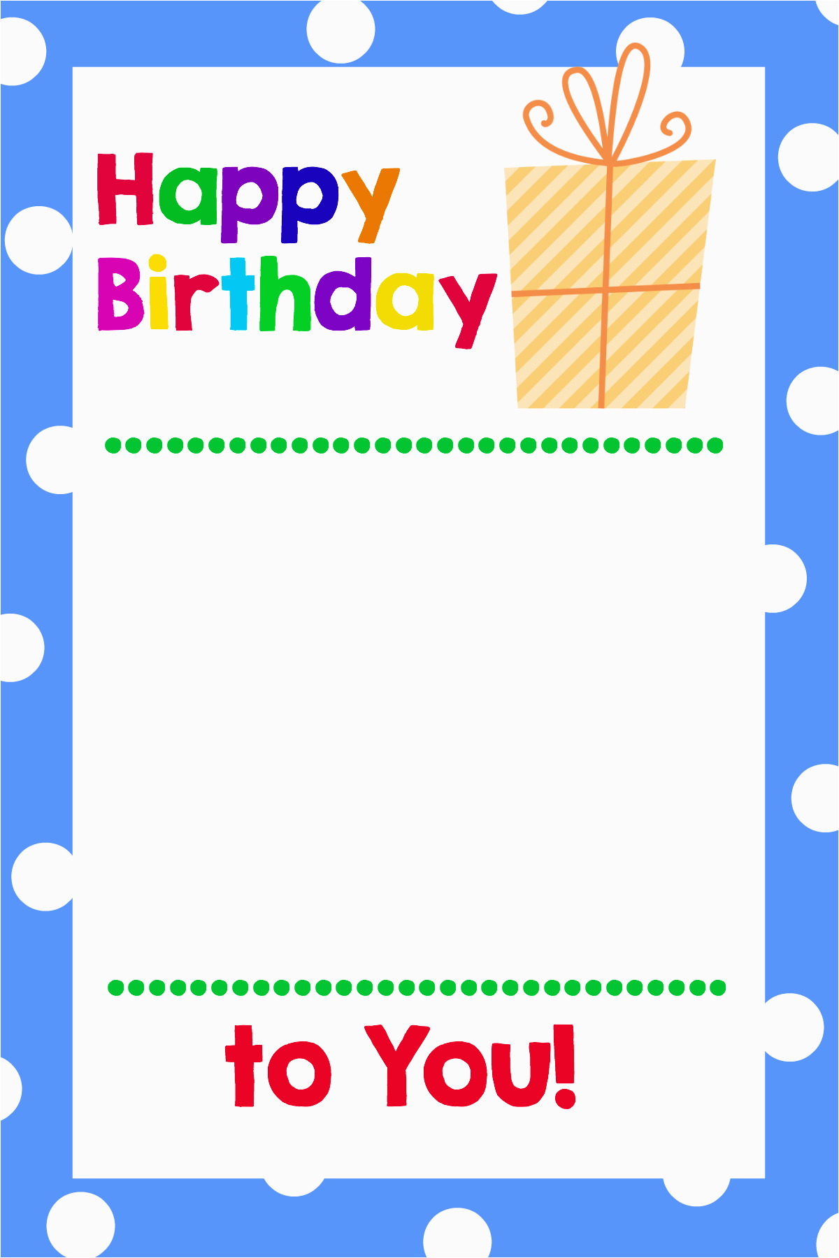 Online Gift Cards for Birthdays Printable Birthday Gift Card Holders Crazy Little Projects