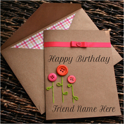 happy birthday card with name edit for facebook