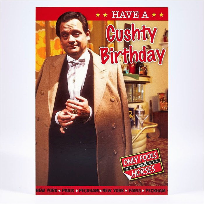 humour birthday card only fools and horses