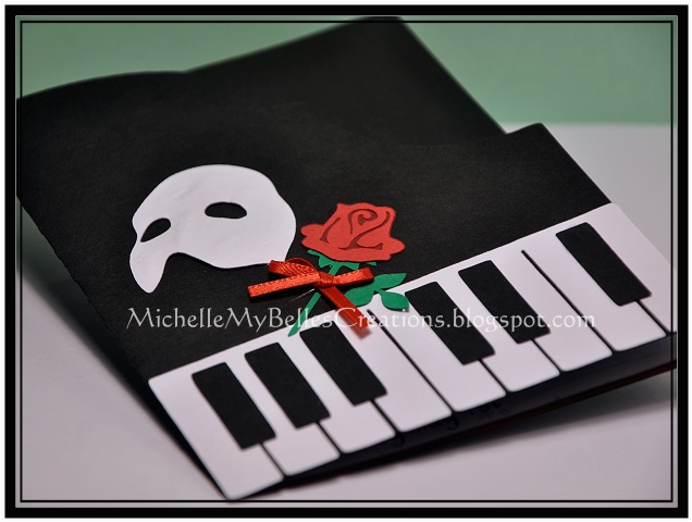 phantom of the opera invites michellemybelle creations