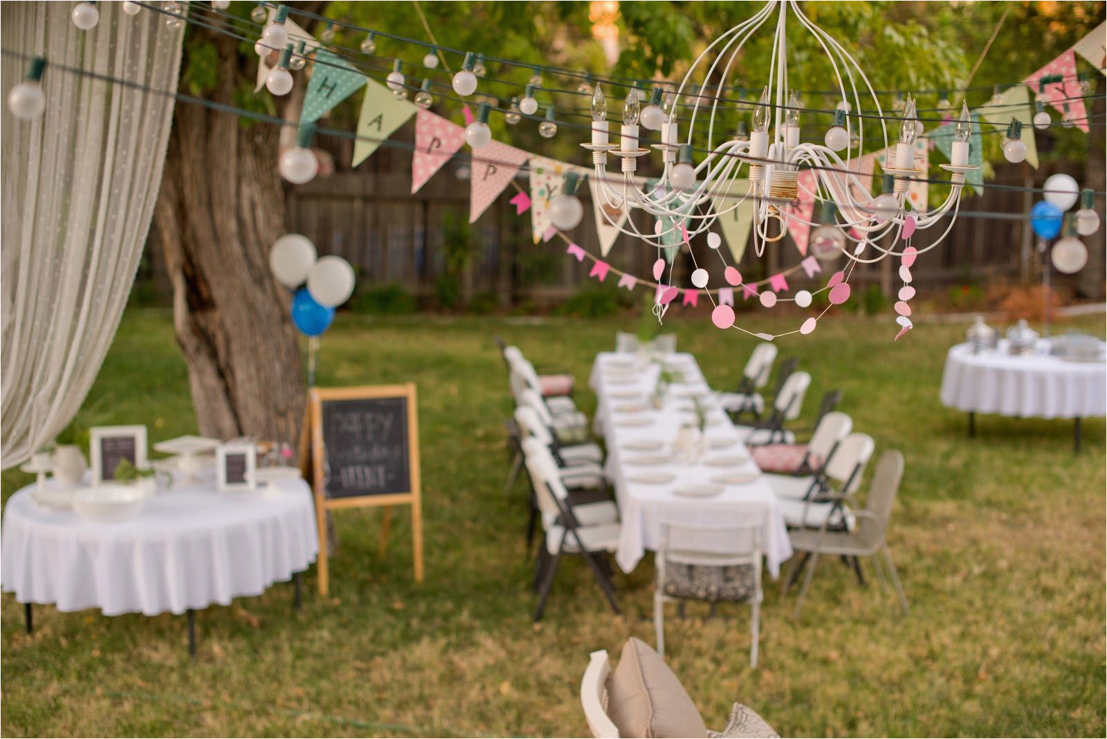 how to organize a memorable outdoor birthday party 2