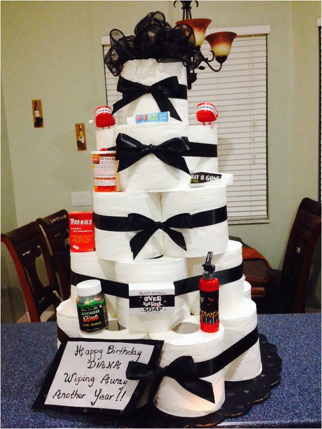 Over The Hill 50th Birthday Decorations Cake Ideas Pinterest