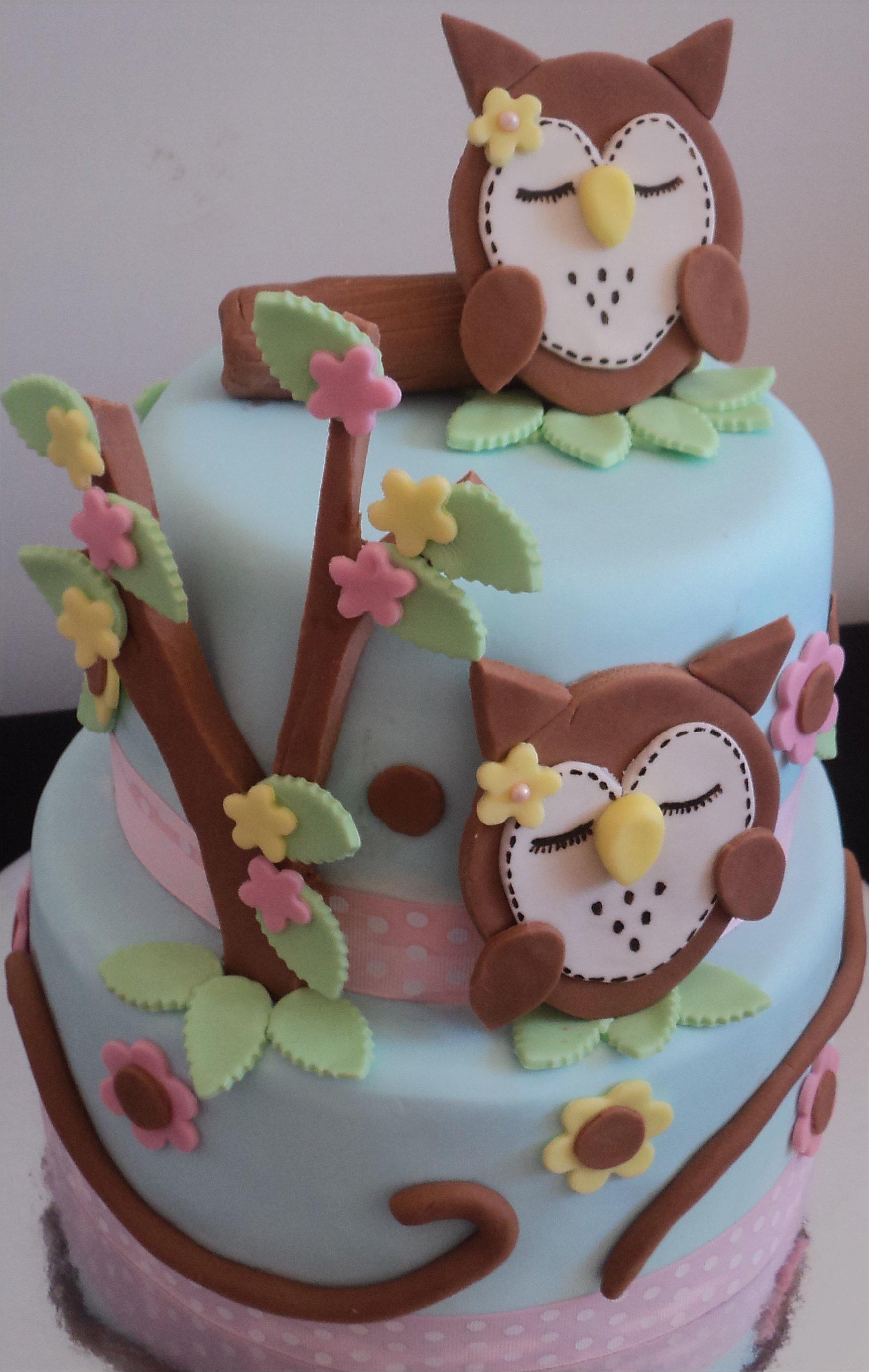Owl Birthday Cake Decorations Owl Cakes Decoration Ideas Little Birthday Cakes