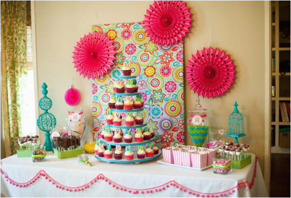 look whoos one 1st birthday party