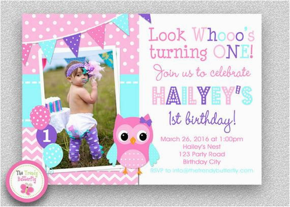 girls birthday invitation girls 1st birthday