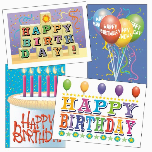 birthday card assorted pack set of 36 cards envelopes