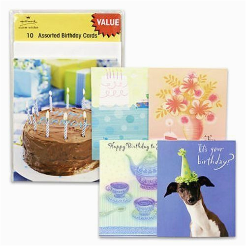 pack of 60 hallmark assorted happy birthday greeting