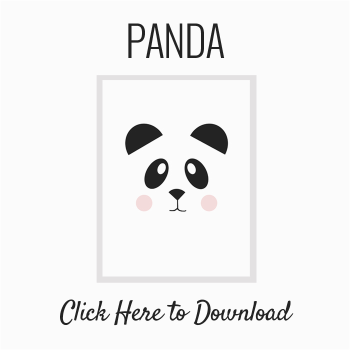 Panda Birthday Card Template Nalle 39 S House Free Printable Art And The Easiest